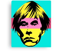 WARHOL POP Canvas Print