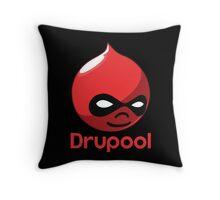 Drupool Throw Pillow