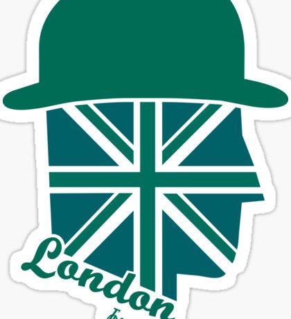 London Gentleman by Francisco Evans ™ Sticker