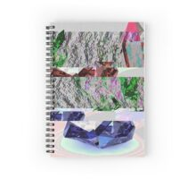 Crystal Data Archon Wave Spiral Notebook