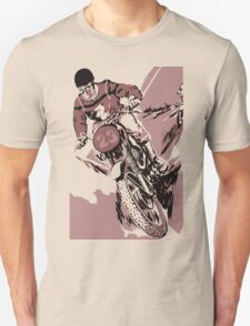 Retro style Motocross, the crosser Unisex T-Shirt