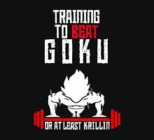 Training to beat Goku Unisex T-Shirt