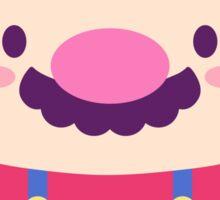 Half Tanooki Mario  Sticker