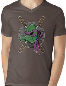 MUTANT NINJA DUCKS Mens V-Neck T-Shirt