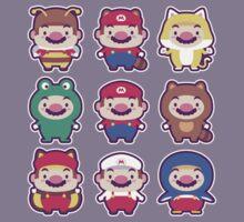 Super Mario Wardrobe Kids Tee