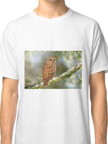 Owl Time Classic T-Shirt
