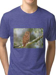 Owl Time Tri-blend T-Shirt
