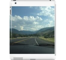 Driving through the West iPad Case/Skin