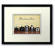 Brownie Love Framed Print