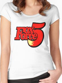 FOX FORCE 5 Women's Fitted Scoop T-Shirt