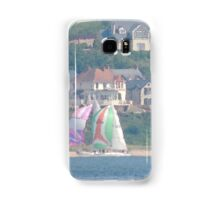 Boats in Water Colour  - Donegal - Buncrana Ireland Samsung Galaxy Case/Skin