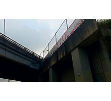 graffiti bridge Photographic Print