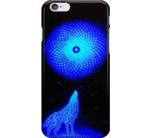 Fractal Moon Cry iPhone Case/Skin