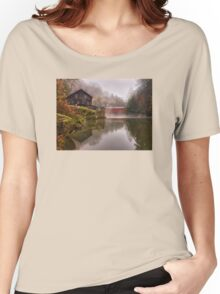 Morning At the Mill - McConnell's Mill, PA Women's Relaxed Fit T-Shirt