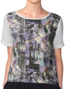 Purple Dancers Women's Chiffon Top