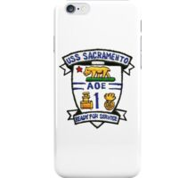 AOE-1 USS Sacramento iPhone Case/Skin