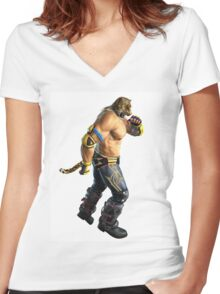 Tekken Women's Fitted V-Neck T-Shirt