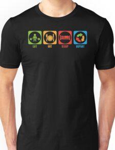 LIFT, EAT, SLEEP, REPEAT Unisex T-Shirt