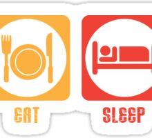LIFT, EAT, SLEEP, REPEAT Sticker