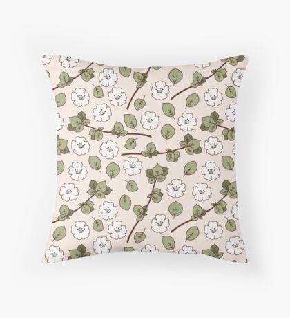 Apple Blossom vol.1 Throw Pillow