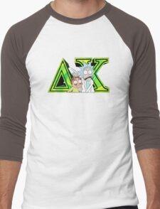 Rick and Morty Delta Chi Men's Baseball ¾ T-Shirt