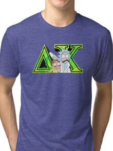Rick and Morty Delta Chi Tri-blend T-Shirt