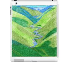 Hills and Valleys  iPad Case/Skin