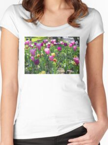 Tulips Park Gardens Women's Fitted Scoop T-Shirt