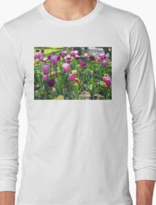 Tulips Park Gardens Long Sleeve T-Shirt
