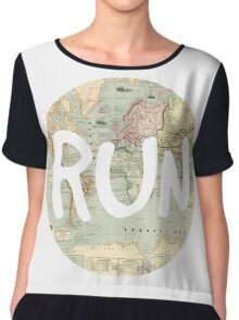 RUN. Chiffon Top
