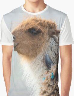 Portrait of beautiful Llama, Argentina Graphic T-Shirt