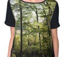woods Chiffon Top