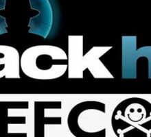 Black Hat Defcon Conference Sticker