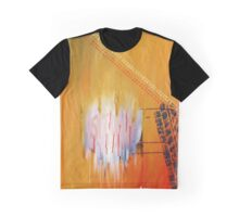 Caught in Time and Traffic Graphic T-Shirt