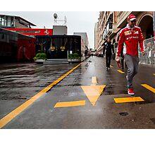 Sebastian Vettel Photographic Print