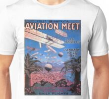 Vintage poster - Aviation Meet Unisex T-Shirt