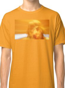 Camera Spin Yellow Woman Classic T-Shirt