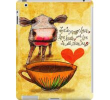 What my Coffee says to me February 16, 2016 iPad Case/Skin