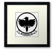 VA-85 Black Falcons Framed Print