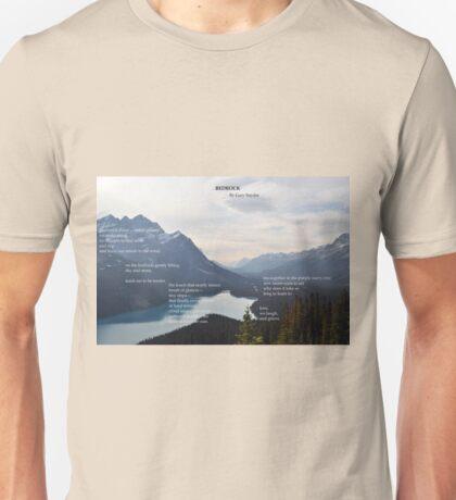 Bedrock by Gary Snyder Unisex T-Shirt