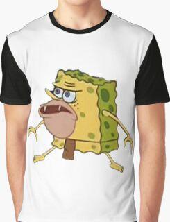 Spongebob caveman Graphic T-Shirt