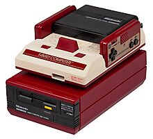 Famicom (NES) Photographic Print