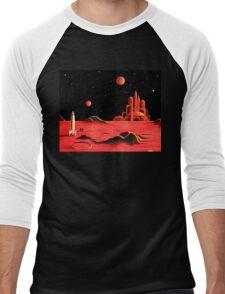 CITY ON MARS Men's Baseball ¾ T-Shirt