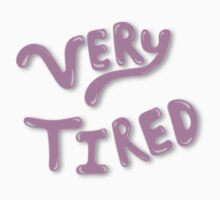 Very Tired One Piece - Short Sleeve