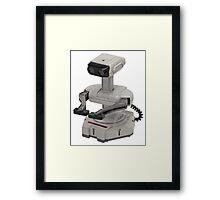 R.O.B. ROB (Robotic Operating Buddy) Framed Print