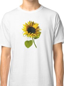 Sunflower Shadow and Light Classic T-Shirt