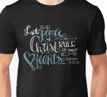Colossians 3:15 Unisex T-Shirt