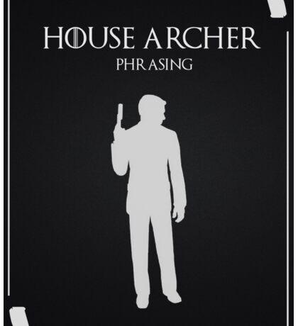 House Archer Sticker