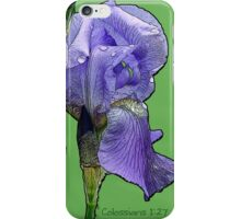 Christ in you the hope of glory! iPhone Case/Skin