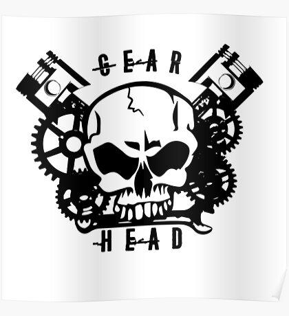 Gear Head Poster